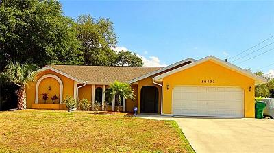 Single Family Home For Sale: 18497 Ebb Avenue
