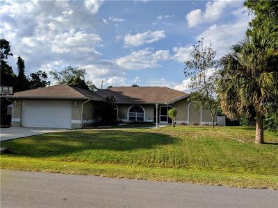 North Port Single Family Home For Sale: 4048 Nemo Avenue