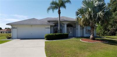 Punta Gorda Single Family Home For Sale: 206 Angol Street