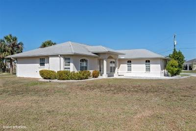 Punta Gorda FL Single Family Home For Sale: $209,000