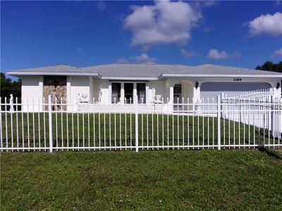 Port Charlotte Single Family Home For Sale: 3289 Pellam Boulevard