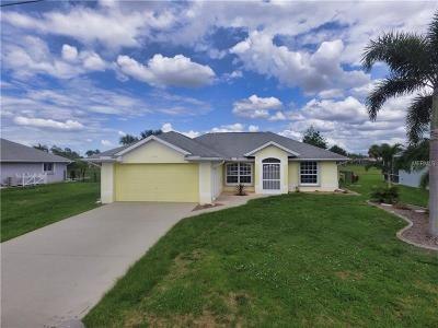 Punta Gorda Single Family Home For Sale: 7346 N Tulip Tree
