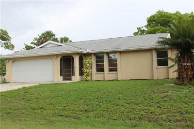 Port Charlotte Single Family Home For Sale: 4378 Melis Street