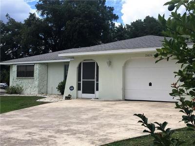 Port Charlotte Single Family Home For Sale: 21426 Quesada Avenue