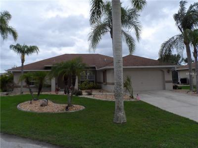 Punta Gorda Single Family Home For Sale: 613 Trumpet Tree