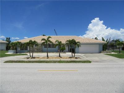 Punta Gorda Single Family Home For Sale: 501 Coronado Drive