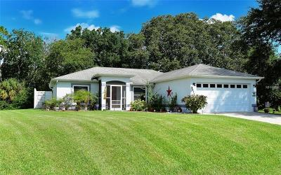 North Port Single Family Home For Sale: 4673 Fernway Drive