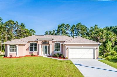 North Port Single Family Home For Sale: 3194 Oceanside Street