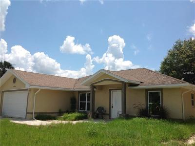 Single Family Home For Sale: 6114 Amish Circle