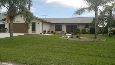 Port Charlotte Single Family Home For Sale: 17079 Ohara Drive