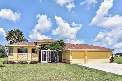 Punta Gorda FL Single Family Home For Sale: $379,000