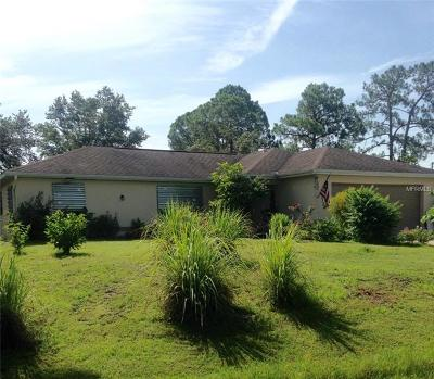 North Port Single Family Home Pending: 1154 Andalusia Street