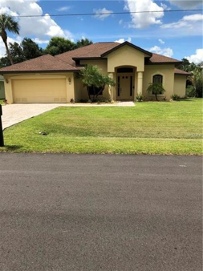Punta Gorda Single Family Home For Sale: 46 Madre De Dios St Street