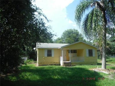 Sarasota FL Single Family Home For Sale: $76,000
