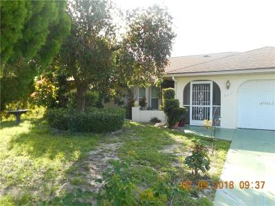 Port Charlotte Single Family Home For Sale: 342 Strasburg Drive