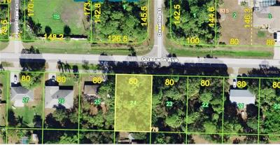 Port Charlotte Residential Lots & Land For Sale: 20409 Quesada Avenue