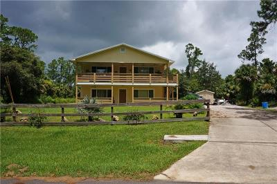 North Port Single Family Home For Sale: 2369 Chesley Road