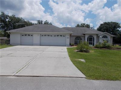 Single Family Home For Sale: 2266 De Garmo Street