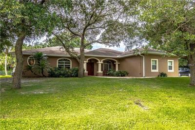 North Port Single Family Home For Sale: 3301 Morch Lane