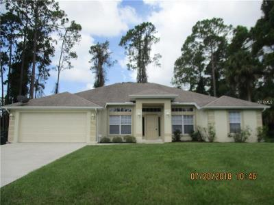 North Port Rental For Rent: 2717 Pronto Lane