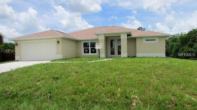 Port Charlotte Single Family Home For Sale: 4243 Library Street