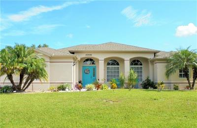 Port Charlotte Single Family Home For Sale: 22466 Minerva Avenue