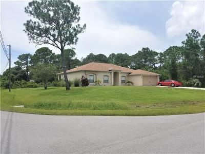 Single Family Home For Sale: 2723 Trianna Street