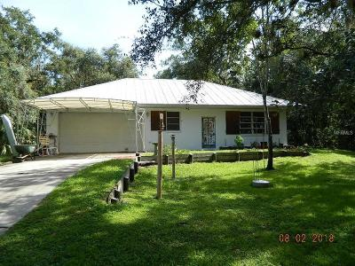 Arcadia Single Family Home For Sale: 3288 SW Wildcat Run Road