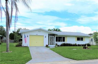 Venice FL Single Family Home For Sale: $215,000