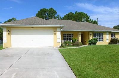 Single Family Home For Sale: 4275 Amari Road