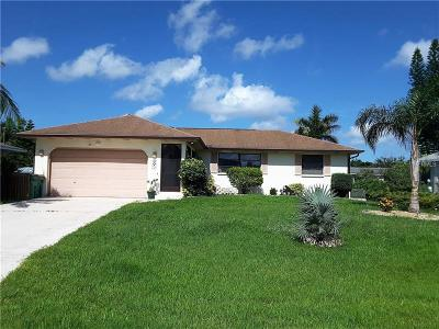 Punta Gorda Single Family Home For Sale: 2701 Palm Drive