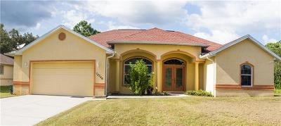 North Port Single Family Home For Sale: 12346 Hernando Road
