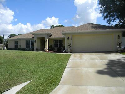 North Port FL Single Family Home For Sale: $279,900
