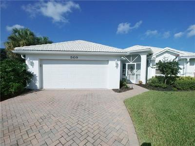 Lee County Single Family Home For Sale: 509 Islamorada Boulevard