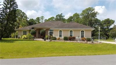 North Port Single Family Home For Sale: 3217 Morchester Lane