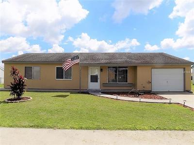 North Port Single Family Home For Sale: 8431 Alam Avenue