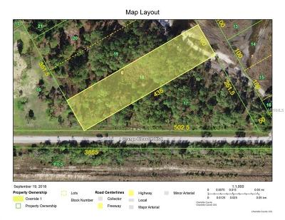 Punta Gorda Residential Lots & Land For Sale: 16155 Hibiscus Drive