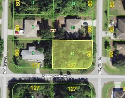 Port Charlotte Residential Lots & Land For Sale: 1072 Kennwood Avenue
