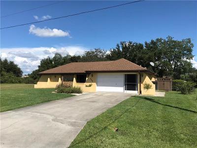 Punta Gorda FL Single Family Home For Sale: $230,000