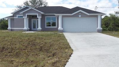 Port Charlotte Single Family Home For Sale: 7560 Riverton Circle