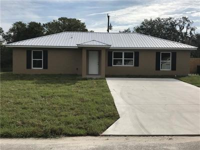 Arcadia Single Family Home For Sale: 10038 Kissimmee Road