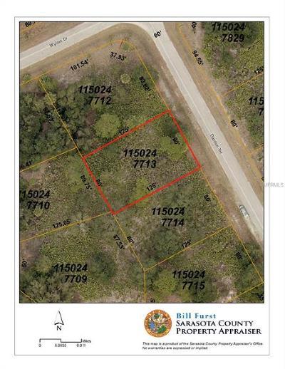 North Port Residential Lots & Land For Sale: Danton Terrace