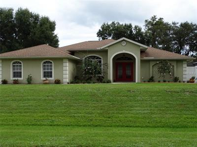 North Port Single Family Home For Sale: 3615 Monterey Lane