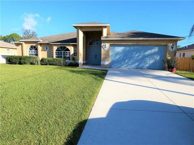North Port Single Family Home For Sale: 4070 Duluth Terrace