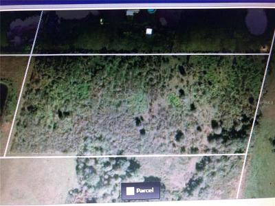 Myakka City Residential Lots & Land For Sale: 34225 E 144th Avenue