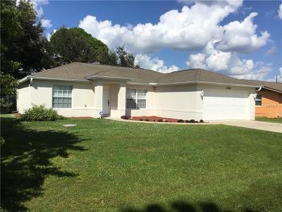 Port Charlotte Single Family Home For Sale: 22416 La Guardia Avenue