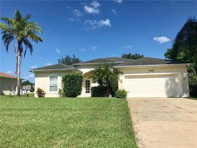 Englewood, North Port Single Family Home For Sale: 7608 Paragon Road