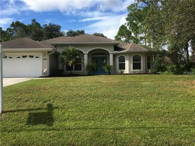 Englewood, North Port Single Family Home For Sale: 2305 Peake Street