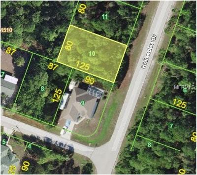 Port Charlotte Residential Lots & Land For Sale: 9443 Hallendale Drive