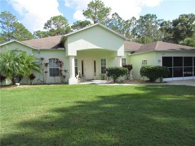 North Port Single Family Home For Sale: 3378 N Salford Boulevard